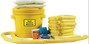 Industrial Forklift Battery Acid Spill Kits and Accessories