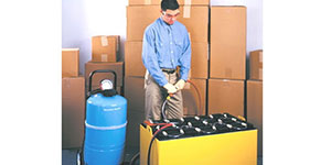 Industrial Forklift Battery Watering Kits & supplies